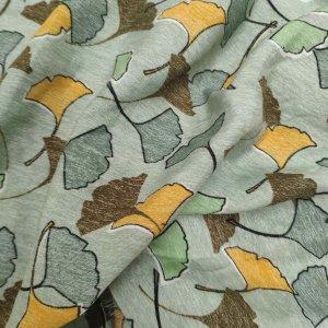 Ginkgo leaves Vintage green