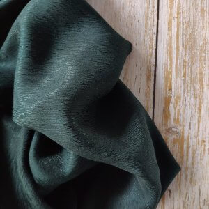 Bemberg™ cupro bark crepe -1203 --19 Night green