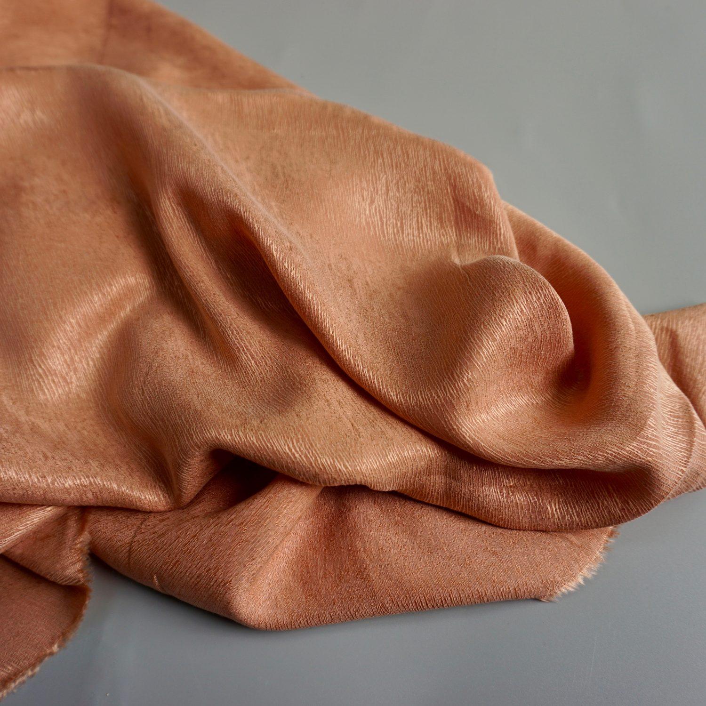 Cupro bark crepe