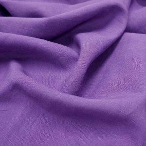 Sanded Lenzing Tencel Linen slub(21s) -1002 --17 sunset purple