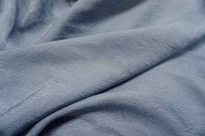 Bemberg cupro bark crepe -1203 --12 Ocean blue